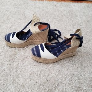 Authentic Coach Fern Platform Wedges